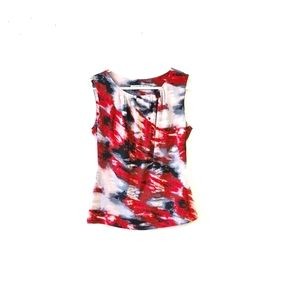 Andrew Marc New York Red Palette Top Small